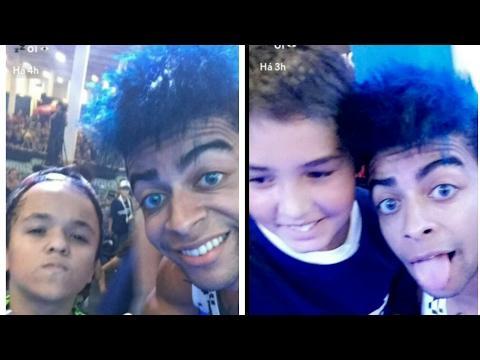 EVERSON ZOIO NO EVENTO EM BRASÍLIA TIRANDO FOTOS COM OS FÃS (Snapchat)