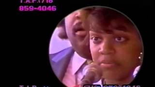Tawana Brawley-Tawana at press conference