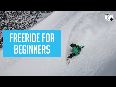 FREERIDE FOR BEGINNERS   HOW TO XV