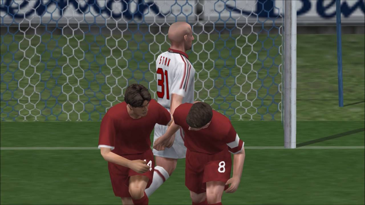 Pro Evolution Soccer 5 PSP Gameplay HD
