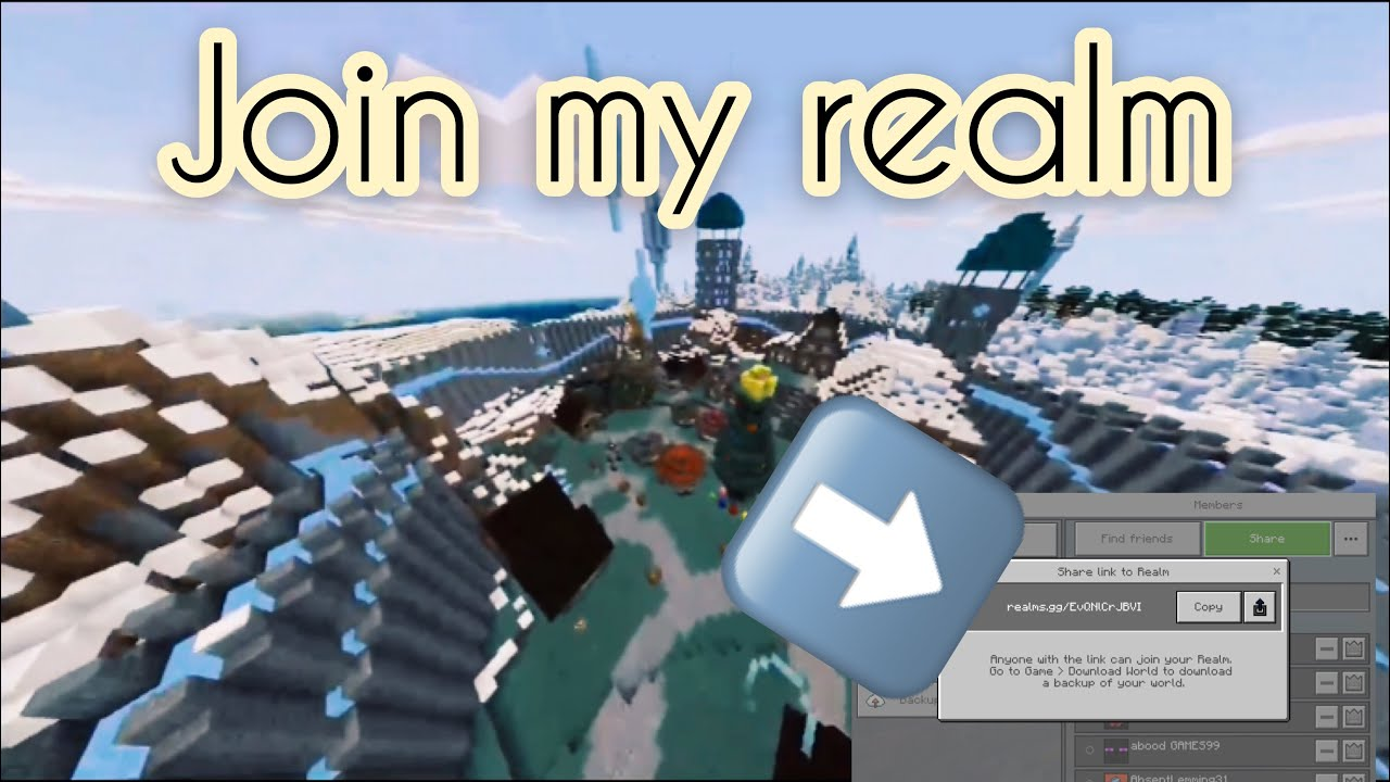 Realm code January 2019 ( how to join my realm )
