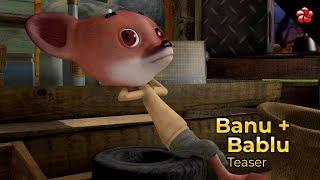 Banu+Bablu Teaser ♥ New Malayalam cartoon for children in HD