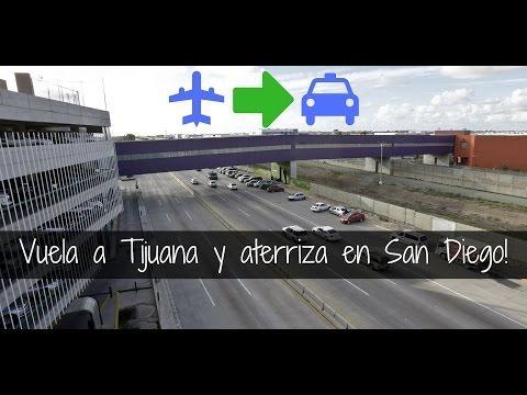 Como cruzar de Tijuana a San Diego por el puente CBX - Cross Border Express!