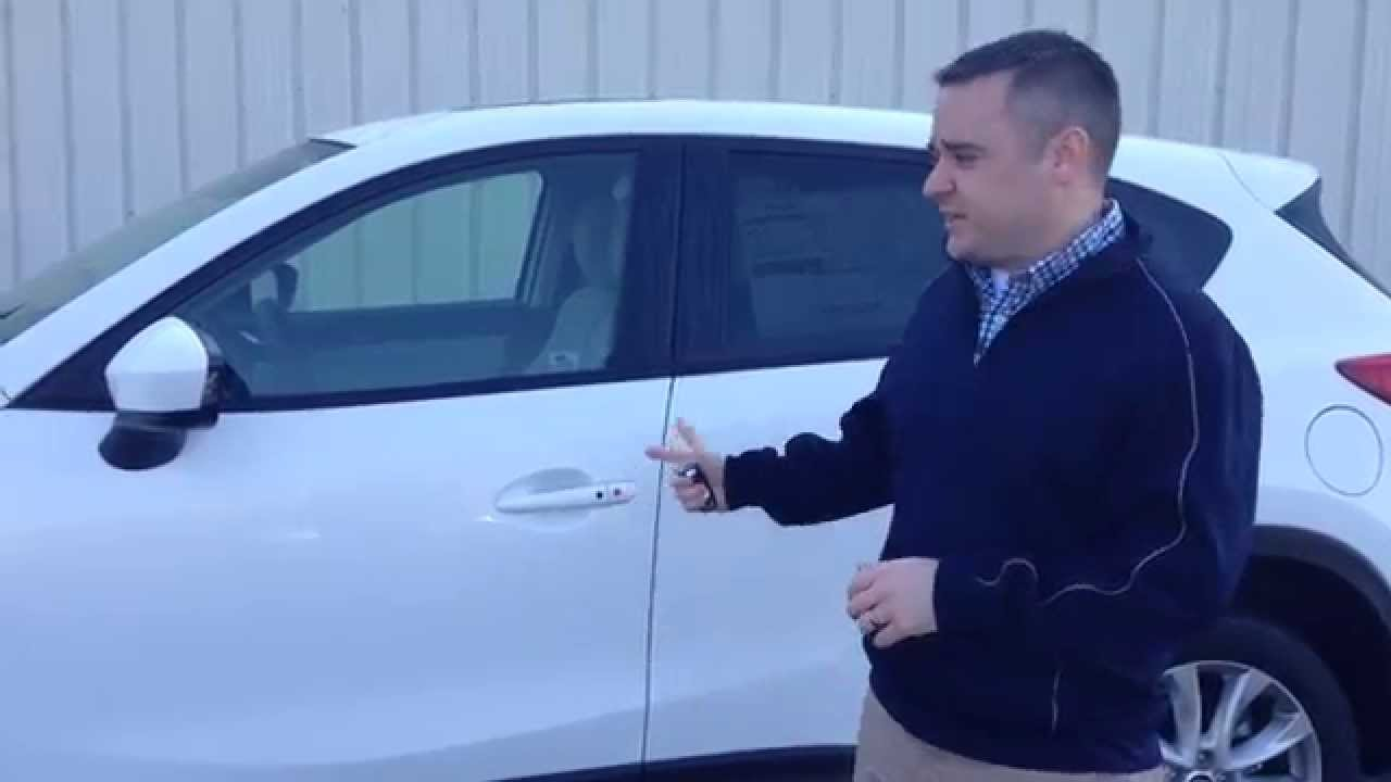 How To Use Mazda Smart Key Access In A 2014 Mazda Cx 5