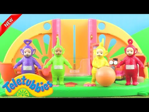 Teletubbies: Teletubbies And The Naughty Wind | Toy Play Video | Play games with Teletubbies