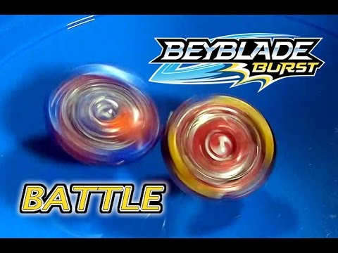 Beyblade Burst By Hasbro Valtryek V2 Vs Spryzen S2 Youtube