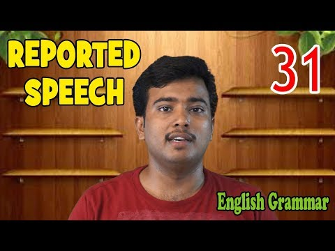 REPORTED SPEECH (Direct and Indirect Speech in Malayalam)