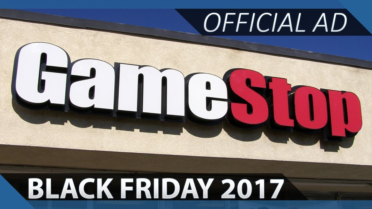 Gamestop Black Friday Deals 2017 Official Ad Youtube