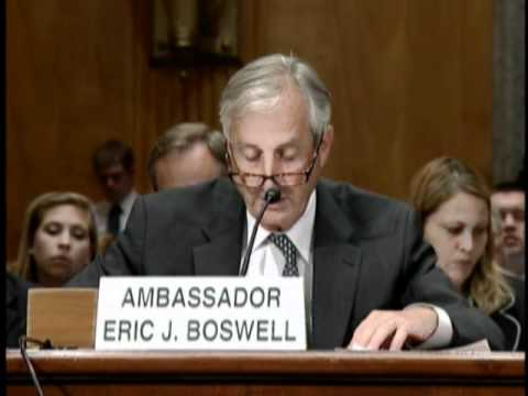 Asst. Sec. Boswell, Senate Homeland Security And Governmental Affairs Committee Hearing