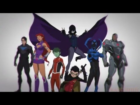 {AMV}Justice League vs Teen Titans Hero
