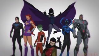 {AMV}Justice League vs Teen Titans Hero
