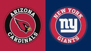 NFL Picks (10/20/19) Arizona Cardinals vs New York Giants
