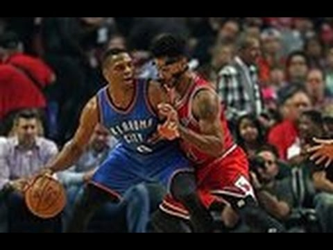 Derrick Rose Duels Russell Westbrook in Chicago