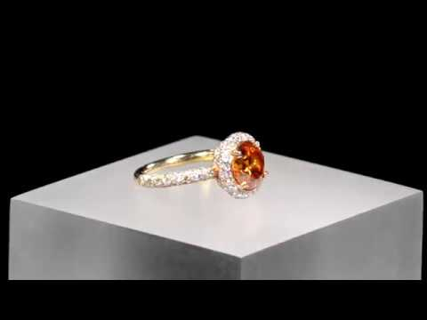 Fancy Deep Orange Diamond Ring 2.34 Carats from M.S. Rau Antiques