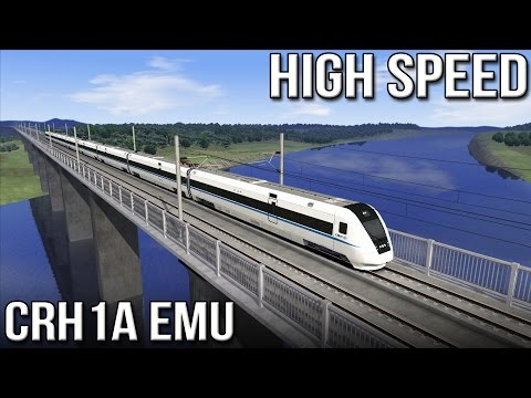 HIGH SPEED - Chinese CRH1A EMU (Train Simulator 2016)