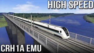 HIGH SPEED - Chinese CRH1A EMU (Train Simulator 2016)
