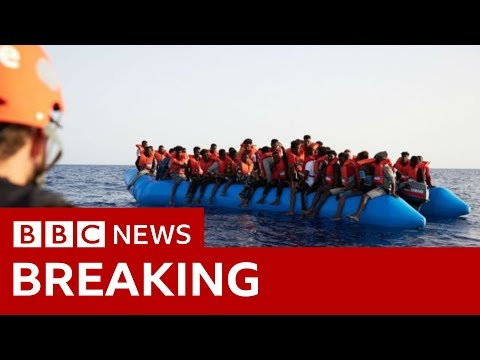 Scores feared drowned in shipwreck off Libya - BBC News
