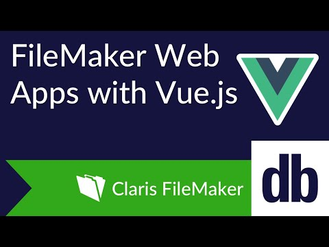 FileMaker Web Apps with Vue js | DB Services