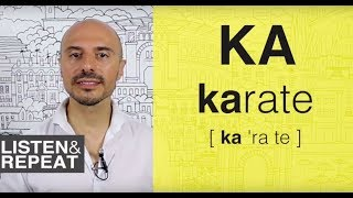 Learn Spanish: (6) Pronouncing the [K] sound in Spanish