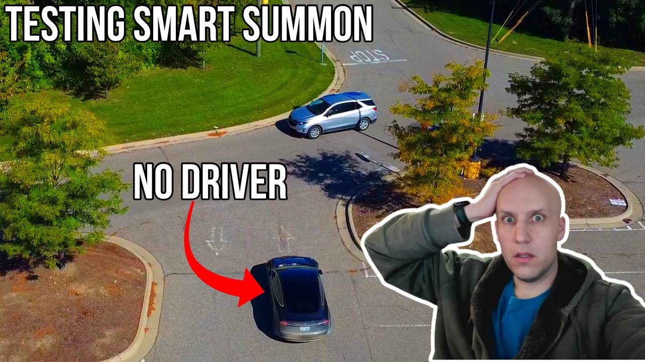 Smart Summon STRESSES ME OUT in Software Update 2020.36.10 | Testing Tesla Full Self Driving