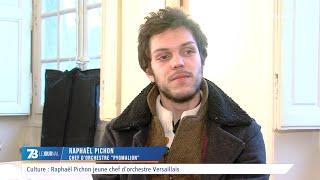 Culture : Raphaël Pichon, jeune chef d'orchestre versaillais