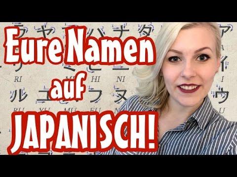 Namen Auf Japanisch