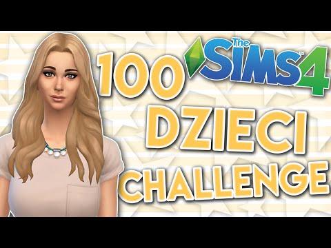 THE SIMS 4 CHALLENGE 100 DZIECI #82 ŚMIERĆ ELLIE I BLIŹNIAKI