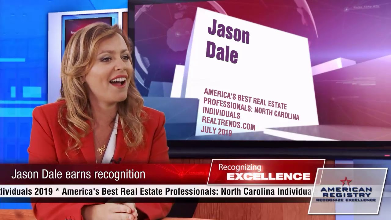 Jason Dale - Recognized for Excellence