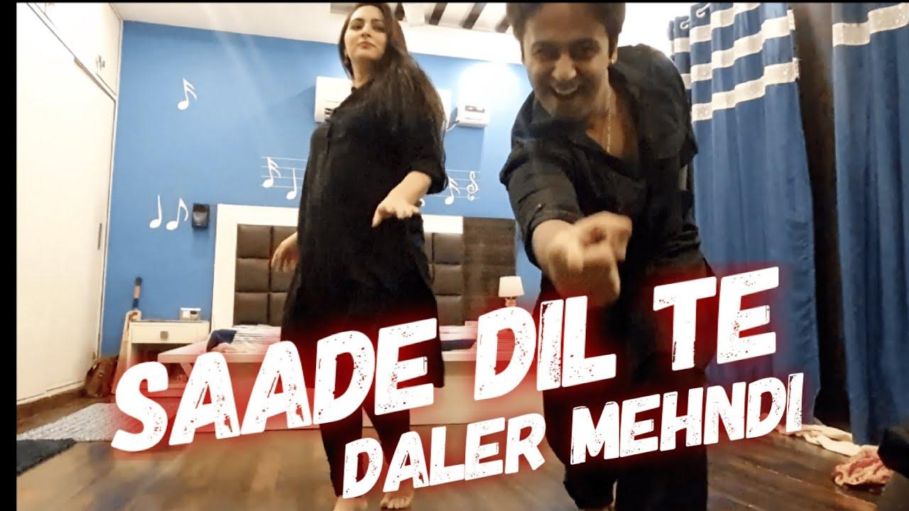 Fun Couple Dance Choreography | Saade Dil Te | Daler Mehendi | Lachak