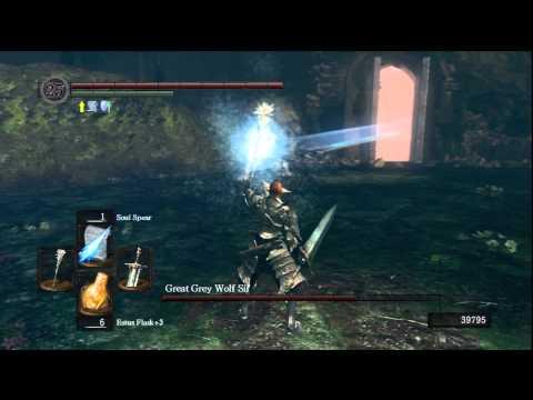 [Dark Souls] Great Grey Wolf Sif Boss Fight