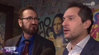"""Marco Giallini e Claudio Santamaria sul set di """"Rimetti a noi i nostri debiti"""""""