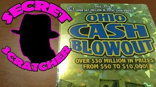 Happy Holidays FUN with A  $20 Ohio Cash Blowout Book
