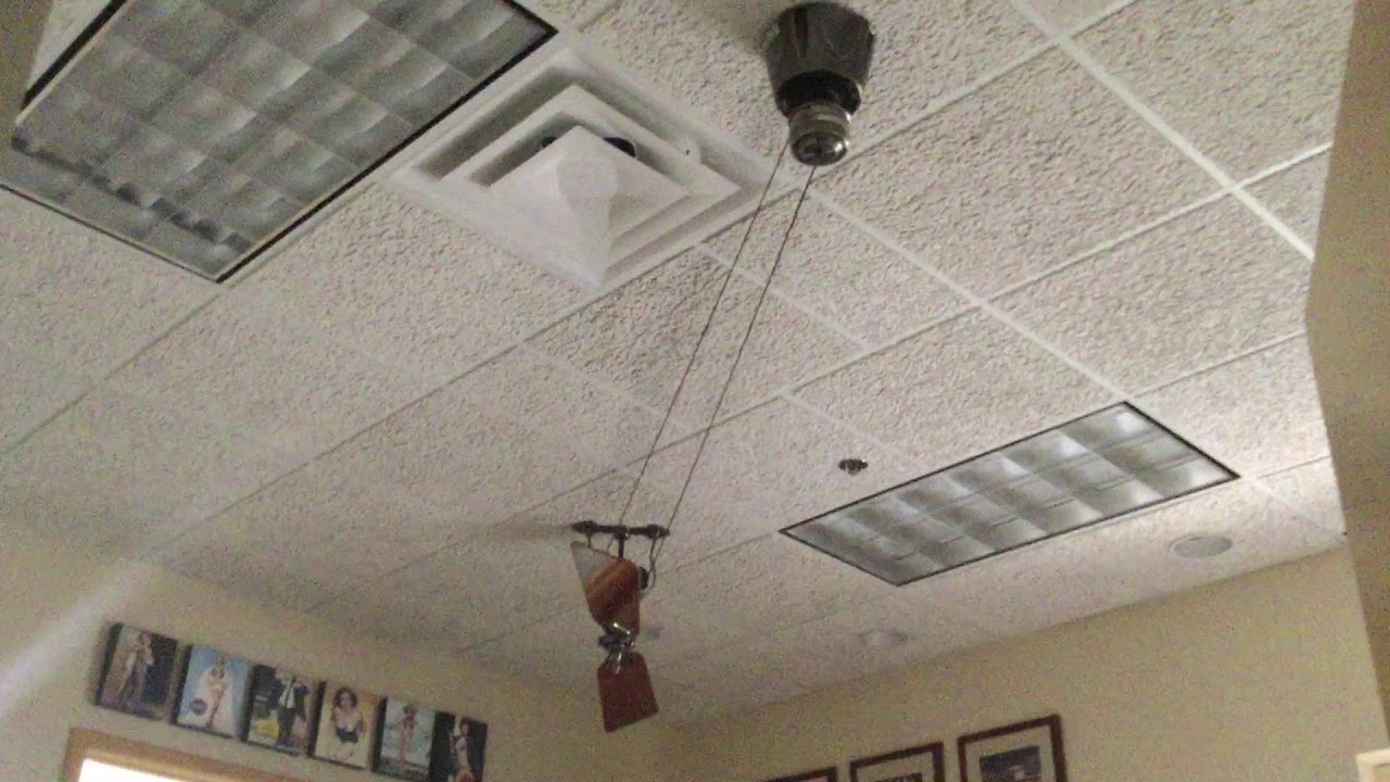 Fanimation Brewmaster Ceiling Fan In Tom S Office At Fanimation Youtube