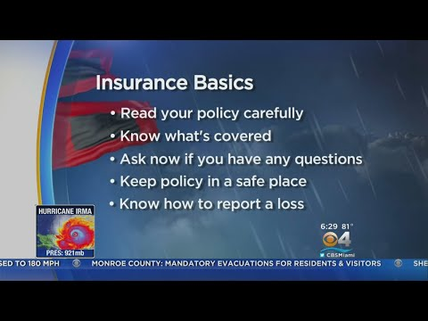 Basic Homeowner Insurance  May Not Cover All Irma Damage