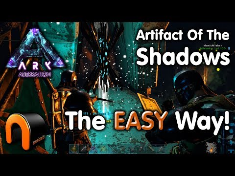 ARK - ARTIFACT OF THE SHADOWS Aberration EASY WAY!