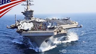 ペルシャ湾に展開するアメリカ海軍の大規模な空母航空戦力 - Massive U.S. Naval Air Power Deployed in Persian Gulf