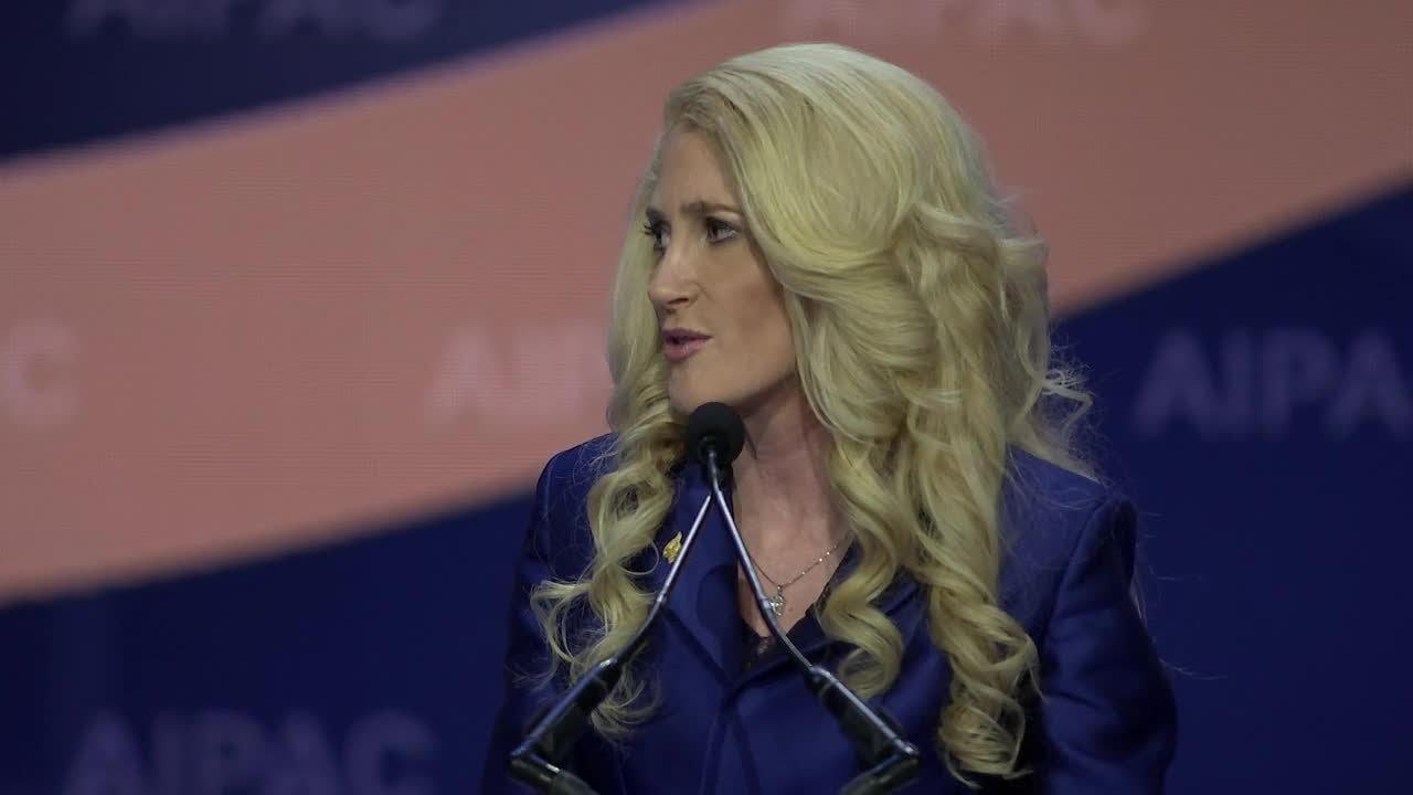 AIPAC President Betsy Berns Korn - YouTube