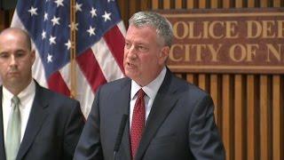 NYC mayor addresses bomb explosion