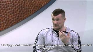 cro cop talks about the time he choked out fabricio werdum