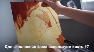 Уроки живописи маслом. Девушка с жемчужной серёжкой.Часть 1.Техника старых мастеров