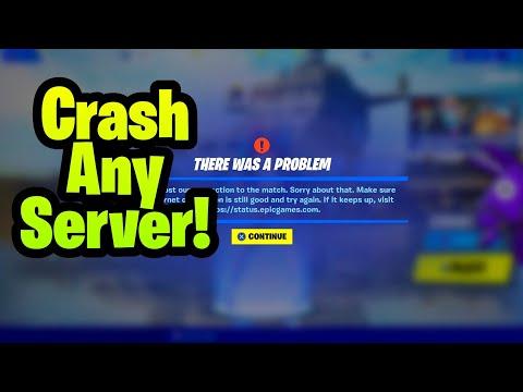 How To Crash Any Fortnite Creative Server! (Crash Public Servers)