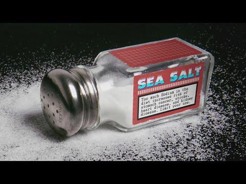Health Warning Labels for Salt!?