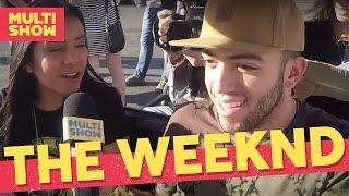 Quiz The Weeknd   Lucas Rangel + Danielle Diz   Lollapalooza 2017   Música Multishow