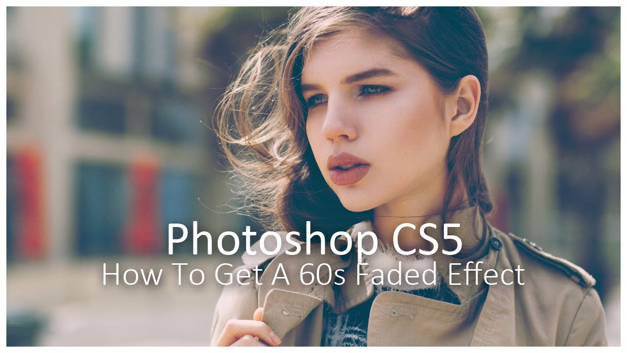 How to get a vintage effect in photoshop retro colour grading how to get a vintage effect in photoshop retro colour grading tutorial youtube baditri Images