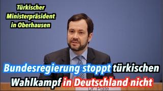 Türkischer Wahlkampf in Deutschland: Bundesregierung verhindert Yildirim-Auftritt nicht