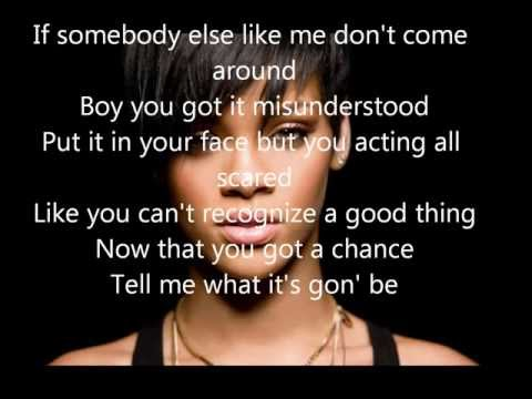 Rihanna . Jump lyrics