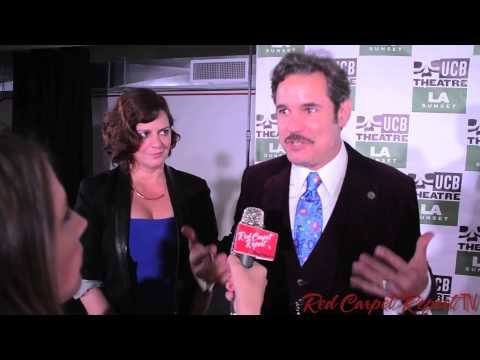Paul F. Tompkins at the Grand Opening of the Upright Citizens Brigade Sunset #UCB
