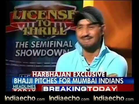 Indiaecho.com - Harbhajan Singh Exclusive Interview 02