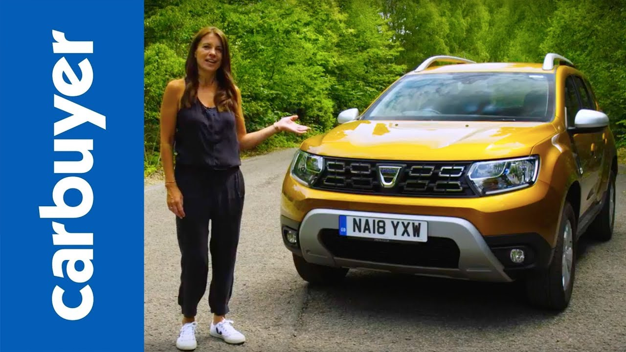 dacia duster suv 2019 in-depth review - carbuyer - youtube