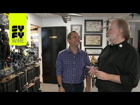 John Byrne Gives Us A Tour Of His Studio | SYFY WIRE